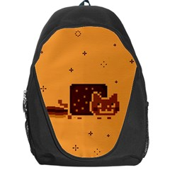 Nyan Cat Vintage Backpack Bag by Onesevenart