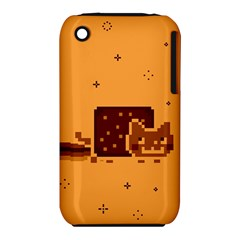 Nyan Cat Vintage Apple Iphone 3g/3gs Hardshell Case (pc+silicone) by Onesevenart