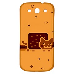 Nyan Cat Vintage Samsung Galaxy S3 S Iii Classic Hardshell Back Case by Onesevenart