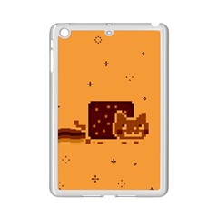 Nyan Cat Vintage Ipad Mini 2 Enamel Coated Cases by Onesevenart