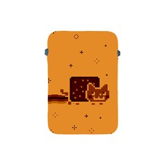 Nyan Cat Vintage Apple Ipad Mini Protective Soft Cases by Onesevenart