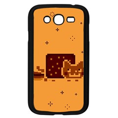 Nyan Cat Vintage Samsung Galaxy Grand Duos I9082 Case (black) by Onesevenart