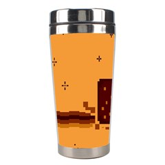Nyan Cat Vintage Stainless Steel Travel Tumblers by Onesevenart