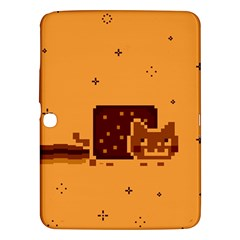 Nyan Cat Vintage Samsung Galaxy Tab 3 (10 1 ) P5200 Hardshell Case  by Onesevenart