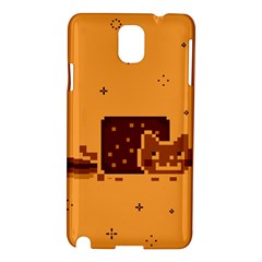 Nyan Cat Vintage Samsung Galaxy Note 3 N9005 Hardshell Case by Onesevenart