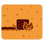 Nyan Cat Vintage Double Sided Flano Blanket (Small)