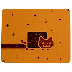 Nyan Cat Vintage Jigsaw Puzzle Photo Stand (rectangular) by Onesevenart