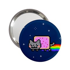 Nyan Cat 2 25  Handbag Mirrors by Onesevenart
