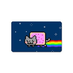 Nyan Cat Magnet (name Card) by Onesevenart
