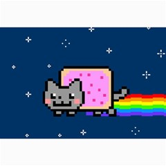 Nyan Cat Collage Prints by Onesevenart
