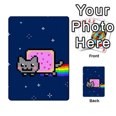 Nyan Cat Multi Purpose Cards (rectangle)  by Onesevenart