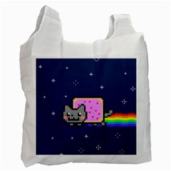 Nyan Cat Recycle Bag (one Side) by Onesevenart