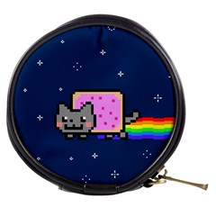 Nyan Cat Mini Makeup Bags by Onesevenart