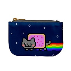 Nyan Cat Mini Coin Purses by Onesevenart