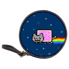 Nyan Cat Classic 20 Cd Wallets by Onesevenart