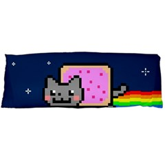 Nyan Cat Body Pillow Case (dakimakura) by Onesevenart