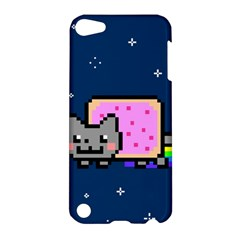 Nyan Cat Apple Ipod Touch 5 Hardshell Case by Onesevenart