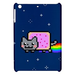 Nyan Cat Apple Ipad Mini Hardshell Case by Onesevenart