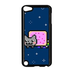 Nyan Cat Apple Ipod Touch 5 Case (black) by Onesevenart
