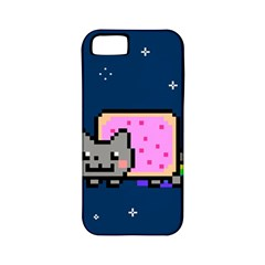Nyan Cat Apple Iphone 5 Classic Hardshell Case (pc+silicone) by Onesevenart