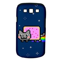 Nyan Cat Samsung Galaxy S Iii Classic Hardshell Case (pc+silicone) by Onesevenart
