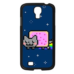 Nyan Cat Samsung Galaxy S4 I9500/ I9505 Case (black) by Onesevenart