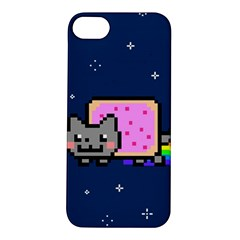 Nyan Cat Apple Iphone 5s/ Se Hardshell Case by Onesevenart