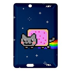 Nyan Cat Amazon Kindle Fire Hd (2013) Hardshell Case by Onesevenart