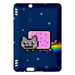 Nyan Cat Kindle Fire Hdx Hardshell Case by Onesevenart