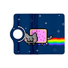 Nyan Cat Kindle Fire Hd (2013) Flip 360 Case by Onesevenart