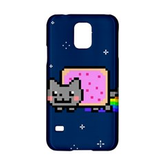 Nyan Cat Samsung Galaxy S5 Hardshell Case  by Onesevenart