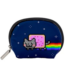 Nyan Cat Accessory Pouches (small)  by Onesevenart