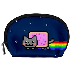 Nyan Cat Accessory Pouches (large)  by Onesevenart