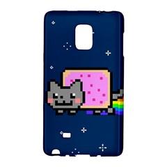 Nyan Cat Galaxy Note Edge by Onesevenart