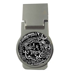 Panic ! At The Disco Lyric Quotes Money Clips (round)  by Onesevenart