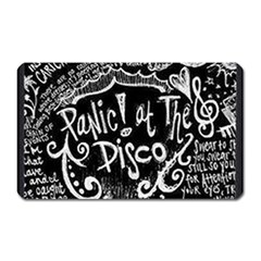 Panic ! At The Disco Lyric Quotes Magnet (rectangular) by Onesevenart