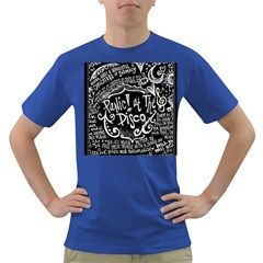 Panic ! At The Disco Lyric Quotes Dark T Shirt by Onesevenart