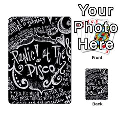 Panic ! At The Disco Lyric Quotes Multi Purpose Cards (rectangle)  by Onesevenart