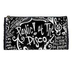 Panic ! At The Disco Lyric Quotes Pencil Cases by Onesevenart