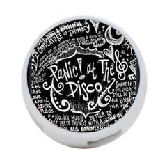Panic ! At The Disco Lyric Quotes 4 Port Usb Hub (two Sides)  by Onesevenart