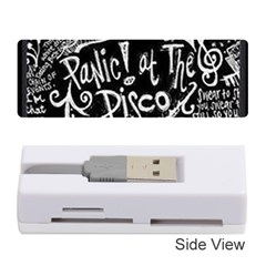 Panic ! At The Disco Lyric Quotes Memory Card Reader (stick)  by Onesevenart
