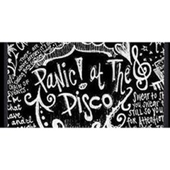 Panic ! At The Disco Lyric Quotes You Are Invited 3d Greeting Card (8x4) by Onesevenart