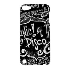 Panic ! At The Disco Lyric Quotes Apple Ipod Touch 5 Hardshell Case by Onesevenart