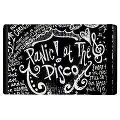 Panic ! At The Disco Lyric Quotes Apple Ipad 3/4 Flip Case by Onesevenart