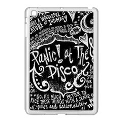 Panic ! At The Disco Lyric Quotes Apple Ipad Mini Case (white) by Onesevenart