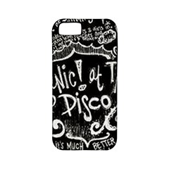 Panic ! At The Disco Lyric Quotes Apple Iphone 5 Classic Hardshell Case (pc+silicone) by Onesevenart