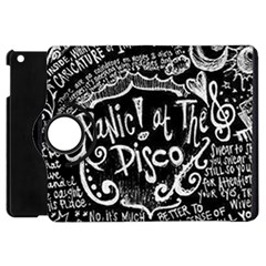 Panic ! At The Disco Lyric Quotes Apple Ipad Mini Flip 360 Case by Onesevenart