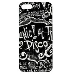 Panic ! At The Disco Lyric Quotes Apple Iphone 5 Hardshell Case With Stand by Onesevenart