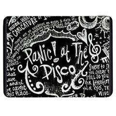 Panic ! At The Disco Lyric Quotes Samsung Galaxy Tab 7  P1000 Flip Case by Onesevenart
