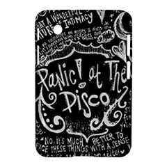 Panic ! At The Disco Lyric Quotes Samsung Galaxy Tab 2 (7 ) P3100 Hardshell Case  by Onesevenart